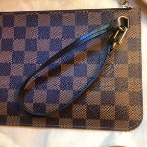 Louis Vuitton Bags - SOLD Louis Vuitton neverfull pouch